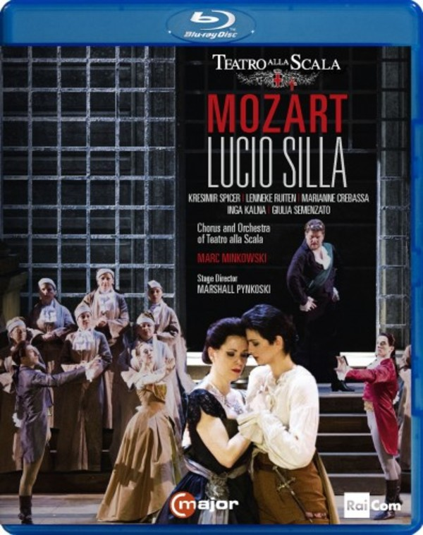 Mozart - Lucio Silla (Blu-ray) | C Major Entertainment 743404