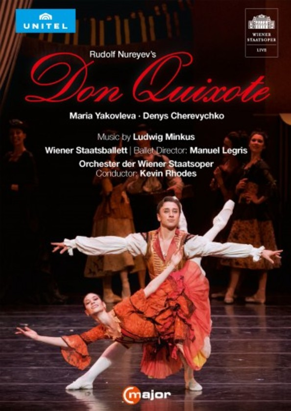 Rudolf Nureyev's Don Quixote (DVD) | C Major Entertainment 742408
