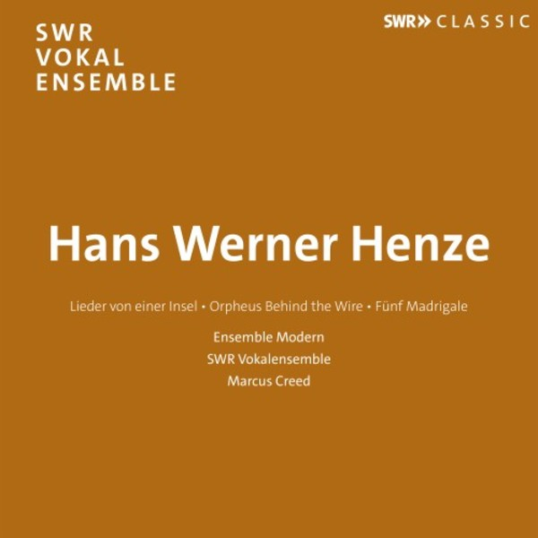 Henze - Choral Works | SWR Classic SWR19049CD