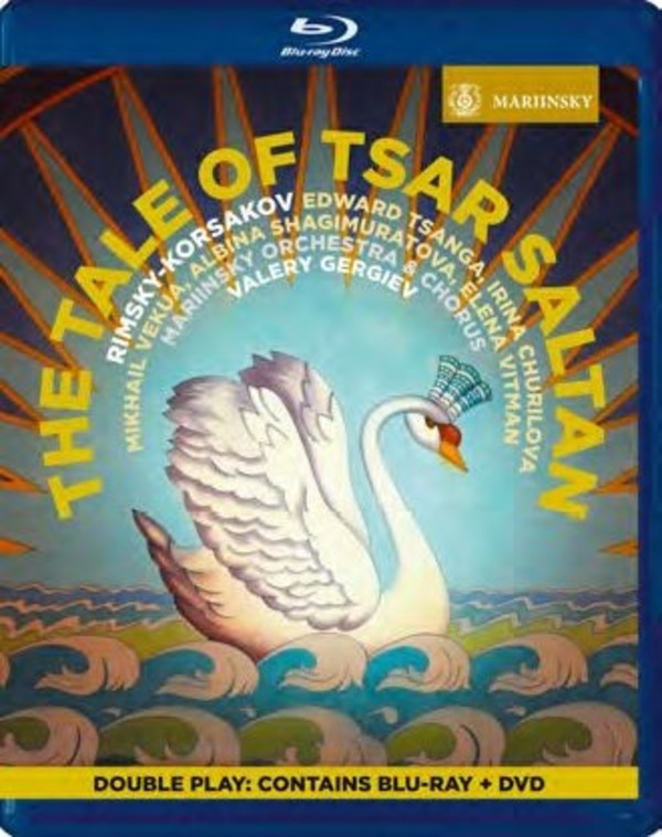 Rimsky-Korsakov - The Tale of Tsar Saltan (DVD + Blu-ray)
