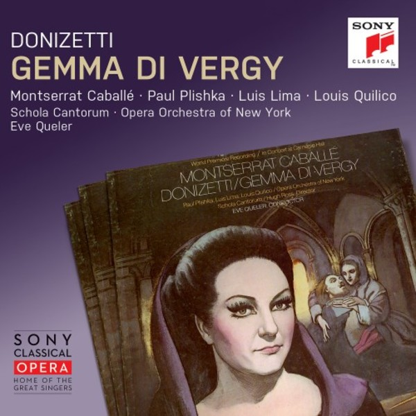 Donizetti - Gemma di Vergy | Sony 88985470342