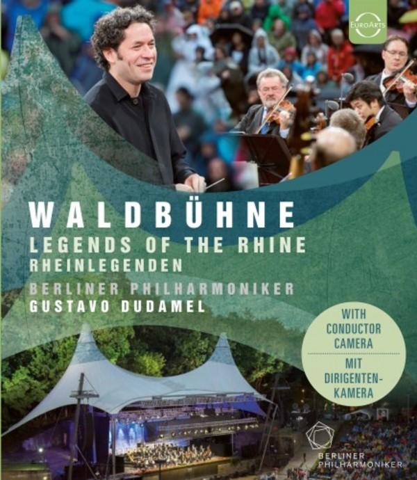 Waldbuhne 2017: Legends of the Rhine (Blu-ray) | Euroarts 4267044