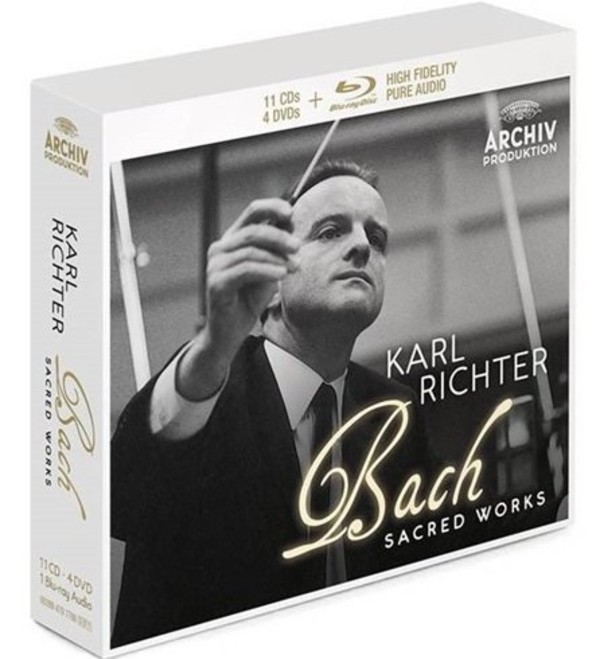 JS Bach - Sacred Works (CD + Blu-ray Audio + DVD)