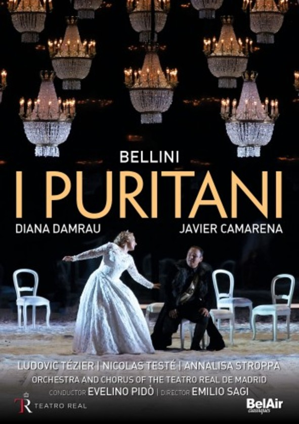 Bellini - I puritani (DVD) | Bel Air BAC142