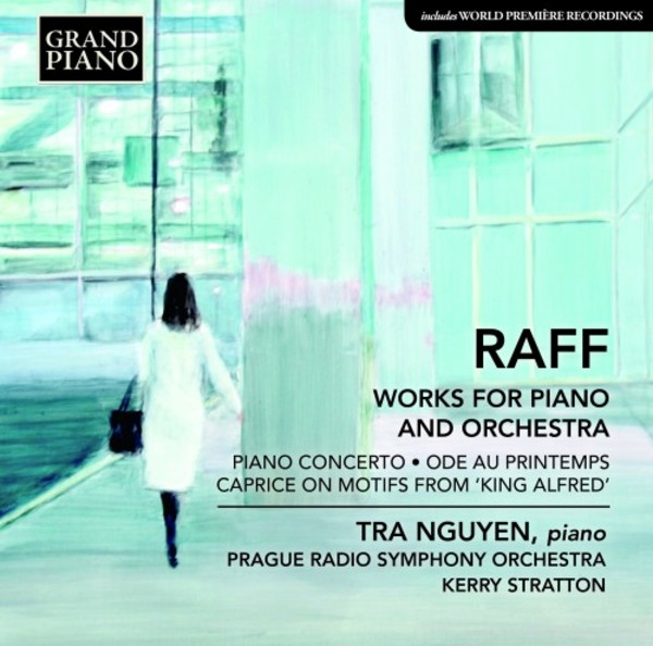 Raff - Works for Piano and Orchestra | Grand Piano GP771