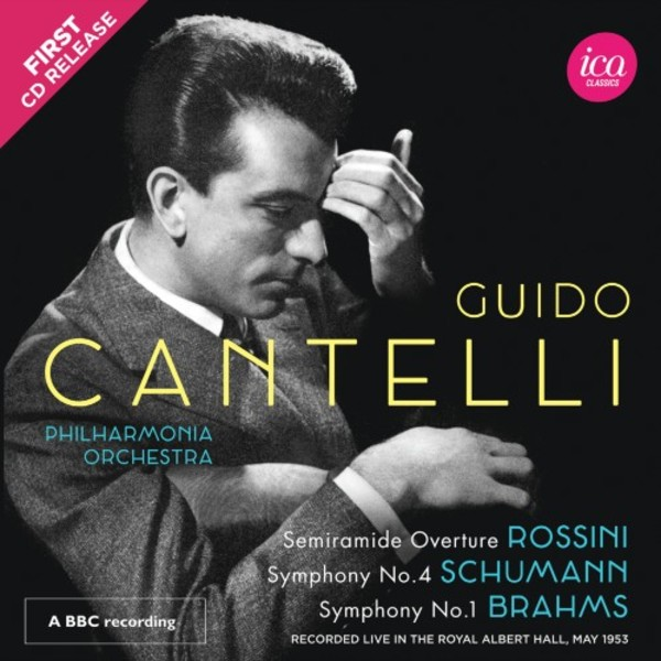 Guido Cantelli conducts Rossini, Schumann & Brahms