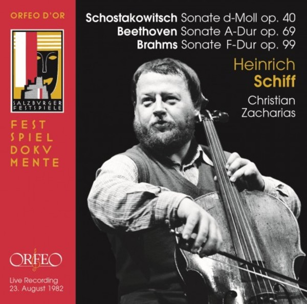Shostakovich, Beethoven & Brahms - Cello Sonatas