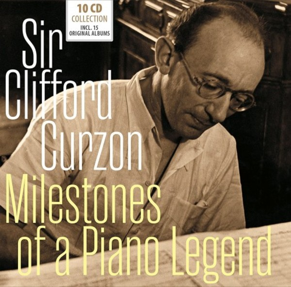 Clifford Curzon: Milestones of a Piano Legend | Documents 600421