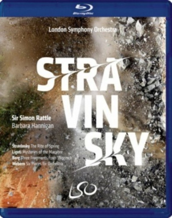 Stravinsky - The Rite of Spring; Ligeti, Berg, Webern (DVD + Blu-ray)
