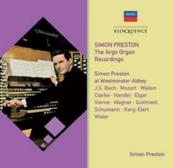 Simon Preston: The Argo Recordings - Westminster Abbey | Australian Eloquence ELQ4824933