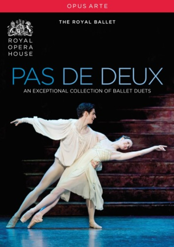 Pas de deux: An exceptional collection of ballet duets (DVD) | Opus Arte OA1118D