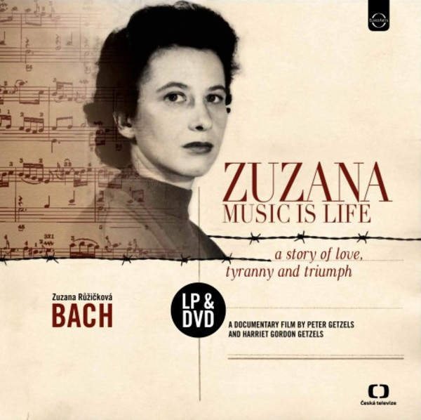 Zuzana: Music is Life - A Story of Love, Tyranny and Triumph (LP + DVD) | Euroarts 4264371