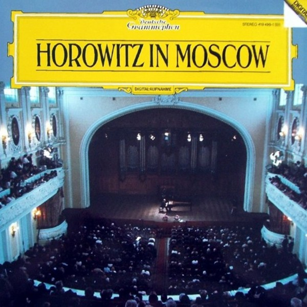 Horowitz in Moscow (LP)