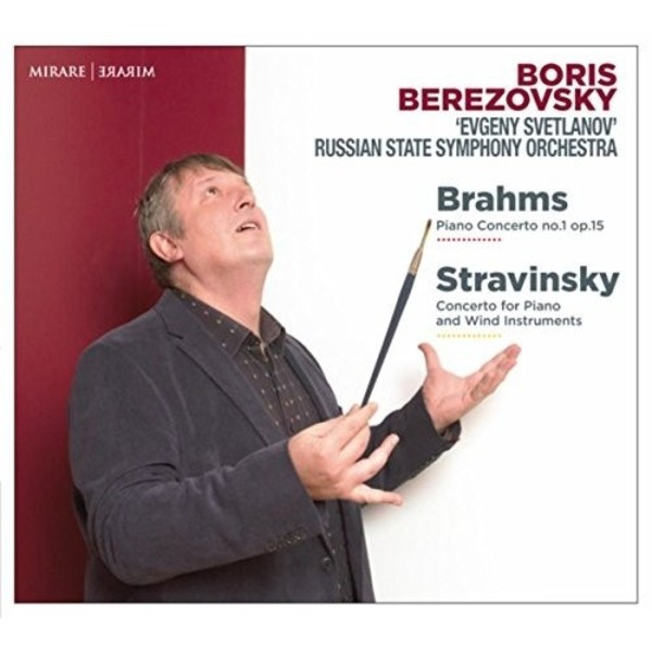 Brahms - Piano Concerto no.1; Stravinsky - Concerto for Piano and Winds
