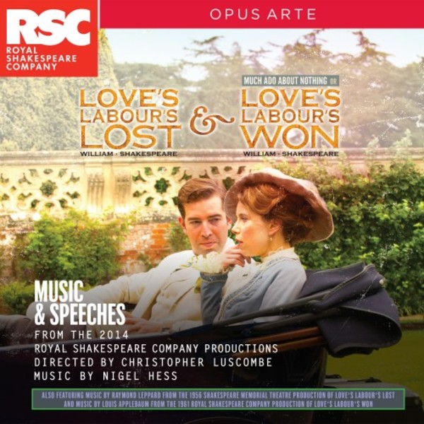 Shakespeare - Love's Labours Lost & Love's Labours Won: Music & Speeches | Opus Arte OACD9025D