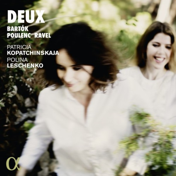 Deux: Music for Violin & Piano by Bartok, Poulenc & Ravel