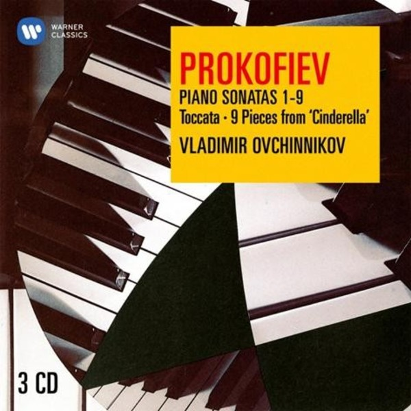 Prokofiev - Piano Sonatas 1-9, Toccata, 9 Pieces from Cinderella