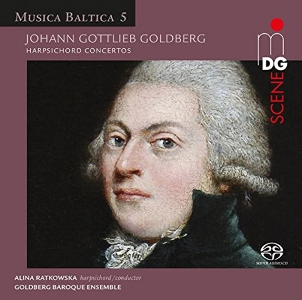 Music Baltica Vol.5: JG Goldberg - Harpsichord Concertos