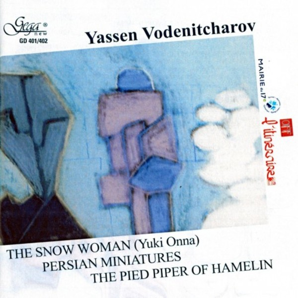 Vodenitcharov - The Snow Woman; Persian Miniatures; The Pied Piper of Hamelin | Gega New GD401402