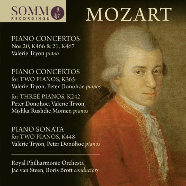 Mozart - Concertos for 1, 2 & 3 Pianos