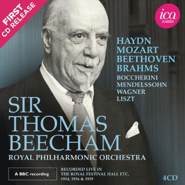 Beecham conducts Haydn, Mozart, Beethoven, Brahms, etc. | ICA Classics ICAC5148