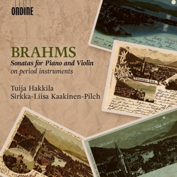 Brahms - Sonatas for Piano & Violin