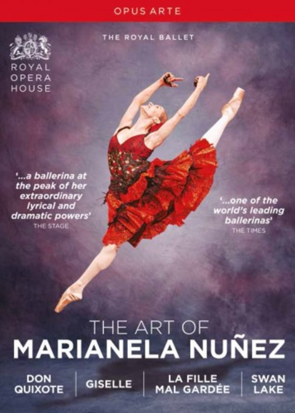 The Art of Marianela Nunez (DVD) | Opus Arte OA1267BD