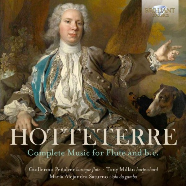 Hotteterre - Complete Music for Flute & Continuo | Brilliant Classics 95511