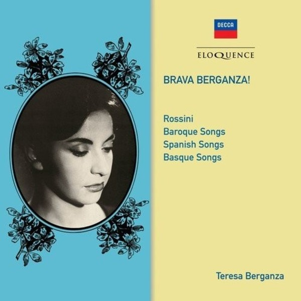 Brava Berganza: Rossini, Baroque, Spanish & Basque Songs | Australian Eloquence ELQ4826397