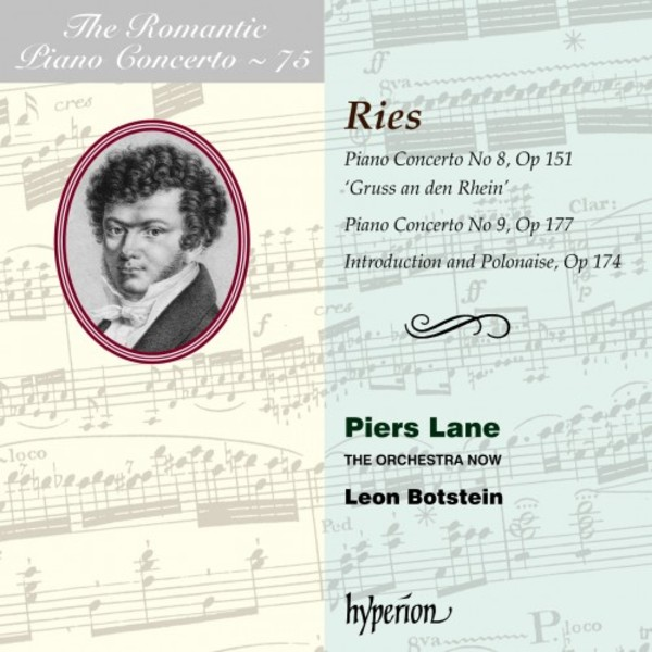 The Romantic Piano Concerto Vol.75: Ries - Piano Concertos 8 & 9 | Hyperion CDA68217