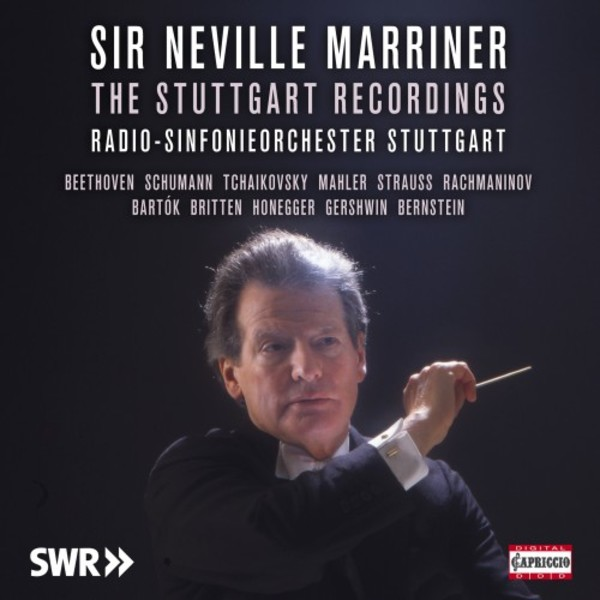 Neville Marriner: The Stuttgart Recordings | Capriccio C7230