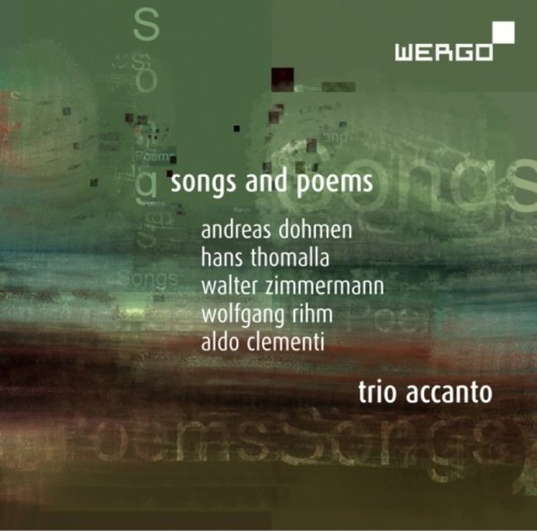 Trio Accanto: Songs and Poems | Wergo WER73642