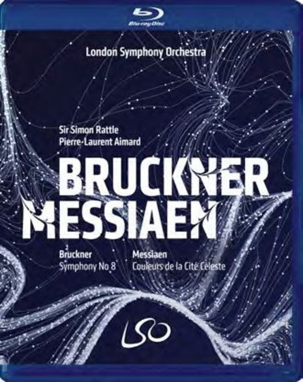 Bruckner - Symphony no.8; Messiaen - Couleurs de la Cite Celeste (DVD + Blu-ray)