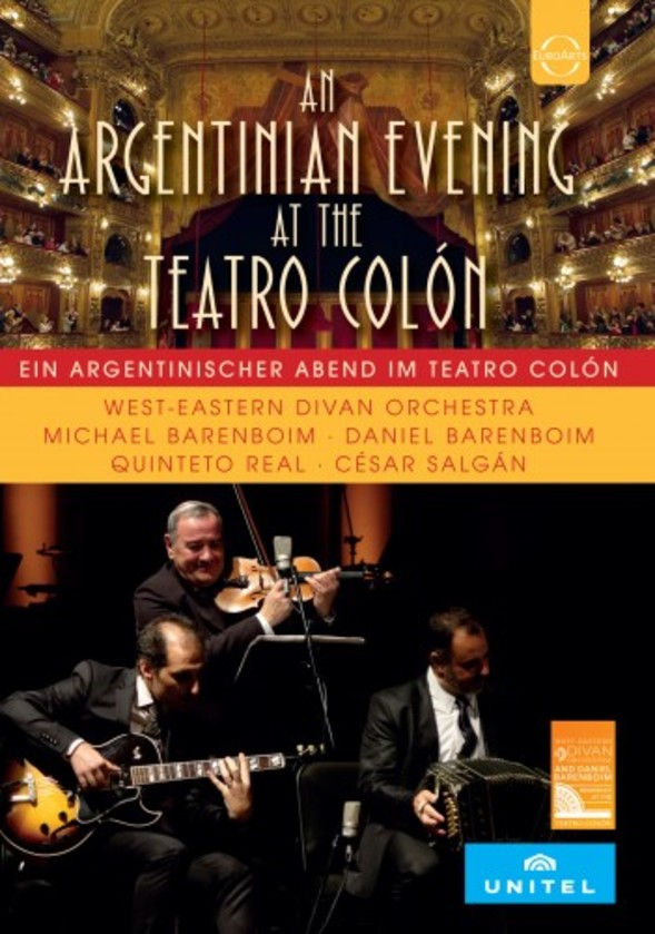 An Argentinian Evening at the Teatro Colon (DVD)