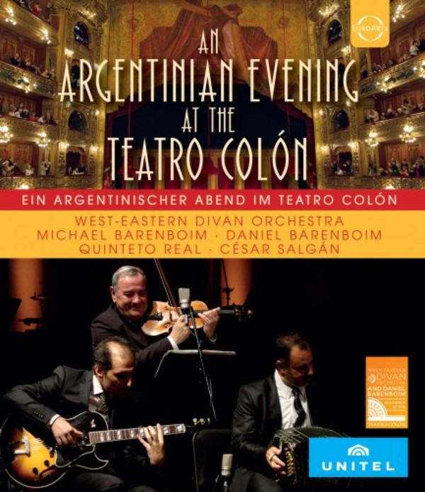 An Argentinian Evening at the Teatro Colon (Blu-ray)