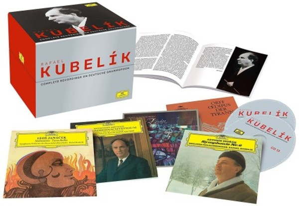 Rafael Kubelik: Complete Recordings on Deutsche Grammophon (CD + DVD) | Deutsche Grammophon 4799959