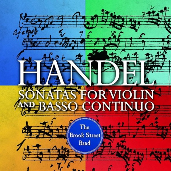 Handel - Sonatas for Violin and Basso Continuo
