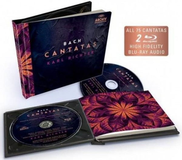 JS Bach - 75 Cantatas (Blu-ray Audio)
