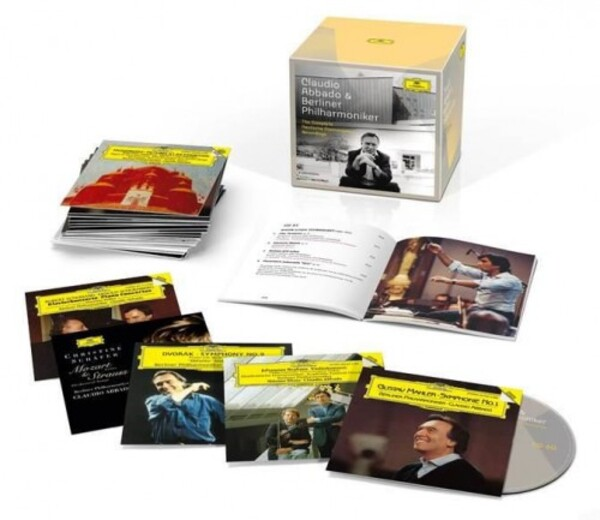 Claudio Abbado & Berliner Philharmoniker: Complete Recordings on Deutsche Grammophon