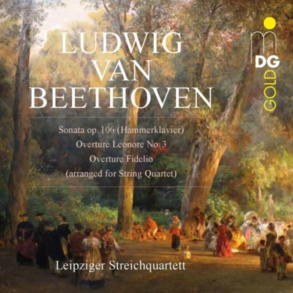 Beethoven - Sonata & Overtures arr. for String Quartet