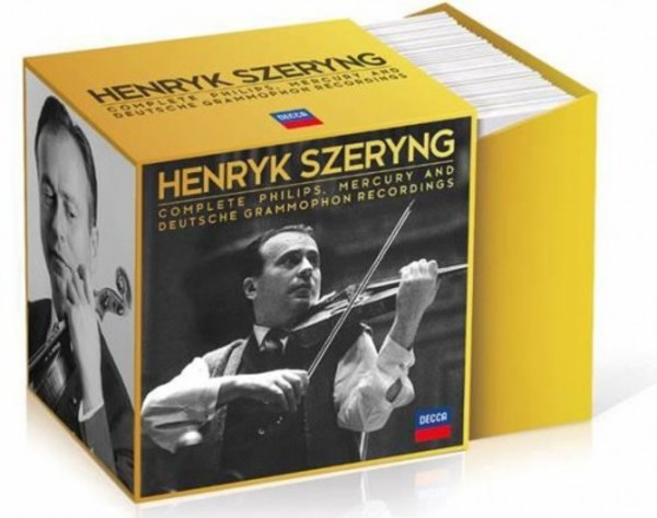 Henryk Szeryng: Complete Philips, Mercury & DG Recordings