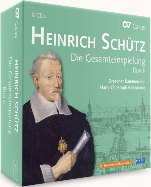 Schutz - Complete Recordings Box 2 (Volumes 9-14) | Carus CAR83042