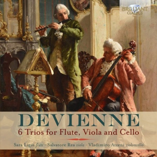 Devienne - 6 Trios for Flute, Viola and Cello
