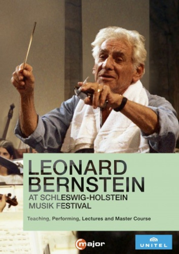 Leonard Bernstein at the Schleswig-Holstein Musik Festival (DVD) | C Major Entertainment 746608