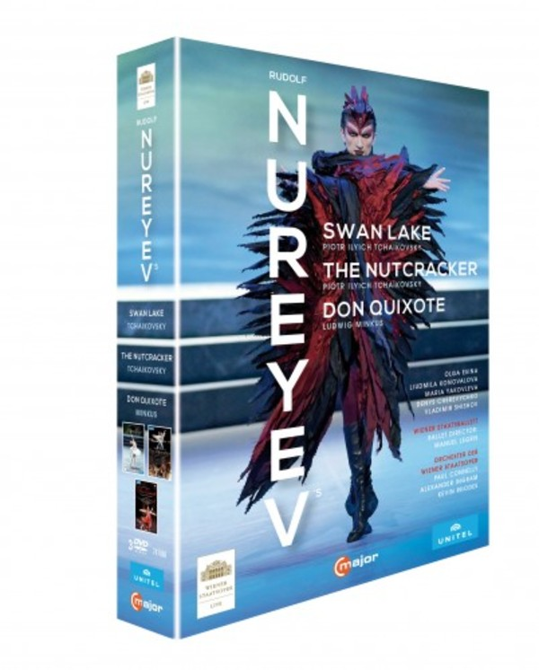 The Nureyev Box: Swan Lake, The Nutcracker, Don Quixote (DVD)