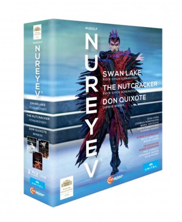 The Nureyev Box: Swan Lake, The Nutcracker, Don Quixote (Blu-ray)