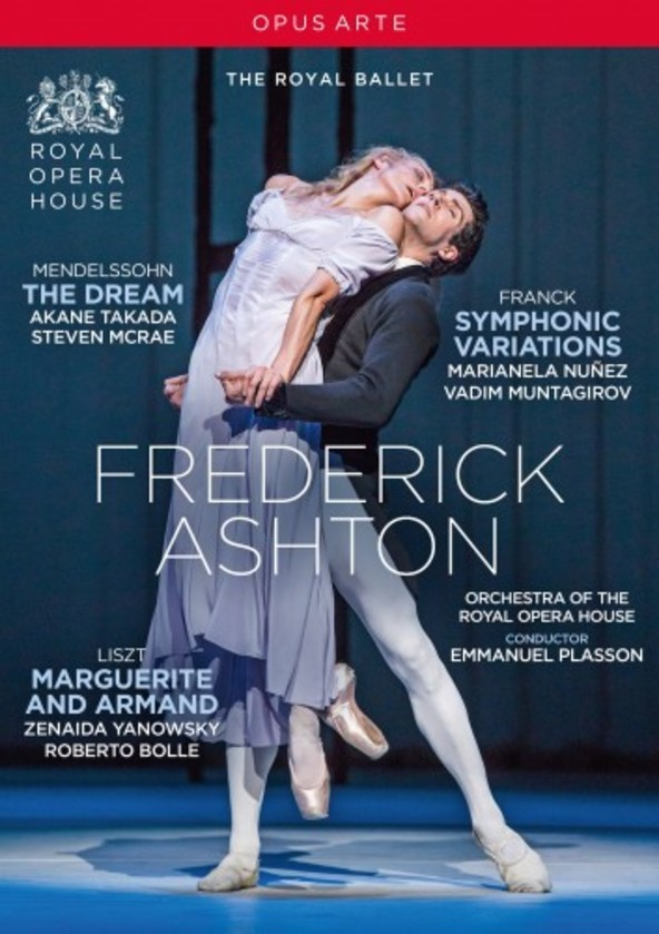 Frederick Ashton: The Dream, Symphonic Variations, Marguerite & Armand (DVD) | Opus Arte OA1264D