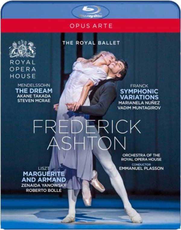Frederick Ashton: The Dream, Symphonic Variations, Marguerite & Armand (Blu-ray)