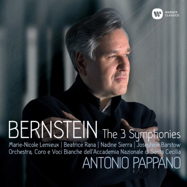 Bernstein - The 3 Symphonies, Prelude, Fugue & Riffs (deluxe edition) | Warner 9029566158