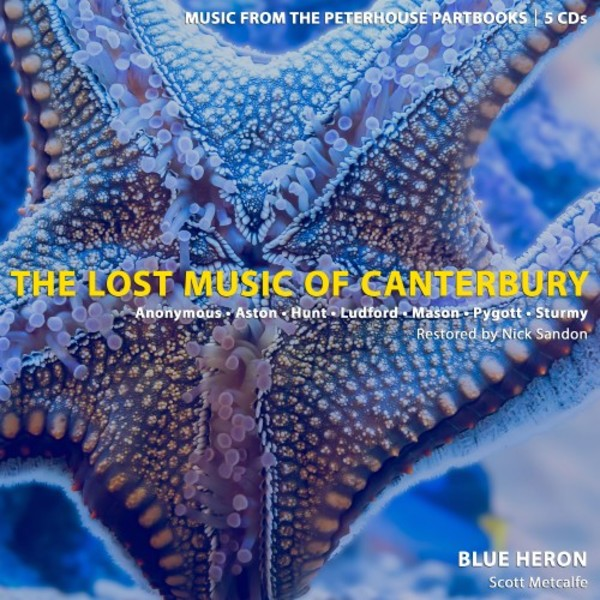 The Lost Music of Canterbury: Music from the Peterhouse Partbooks | Blue Heron BHCD1008